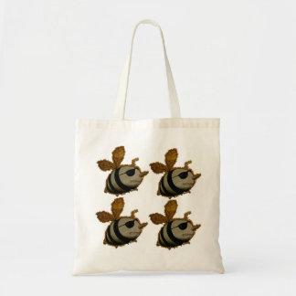 Superheroes bees, Tote Bag
