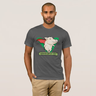 Superheroes, Not Food Vegan T-Shirt