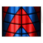 Superheroes - Red and Blue Greeting Cards