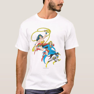 Superheroines Leap T-Shirt