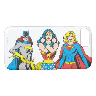 Superheroines Pose iPhone 8/7 Case