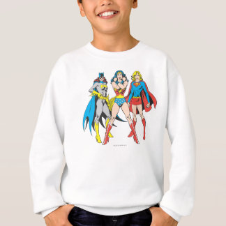 Superheroines Pose Sweatshirt