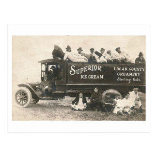 Superior Ice Cream, Sterling, Colorado Vintage Postcard