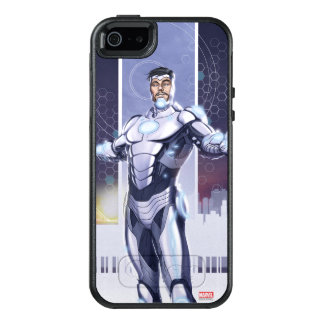 Superior Iron Man And City OtterBox iPhone 5/5s/SE Case