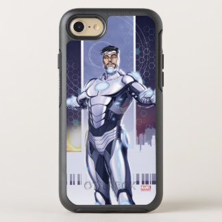 Superior Iron Man And City OtterBox Symmetry iPhone 8/7 Case