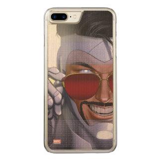 Superior Iron Man In Sunglasses Carved iPhone 8 Plus/7 Plus Case