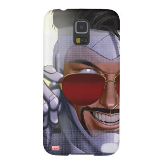 Superior Iron Man In Sunglasses Galaxy S5 Cases