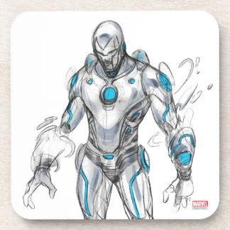 Superior Iron Man Sketch Coaster