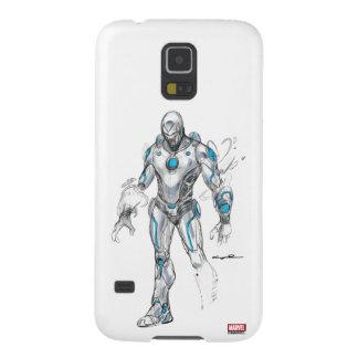 Superior Iron Man Sketch Galaxy S5 Cases