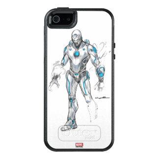 Superior Iron Man Sketch OtterBox iPhone 5/5s/SE Case