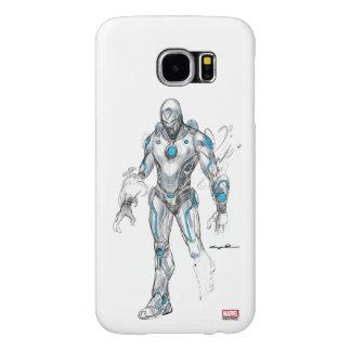 Superior Iron Man Sketch Samsung Galaxy S6 Cases