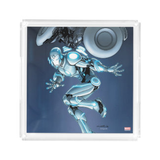 Superior Iron Man Suit Up Acrylic Tray