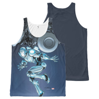 Superior Iron Man Suit Up All-Over-Print Tank Top
