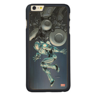 Superior Iron Man Suit Up Carved® Maple iPhone 6 Plus Case