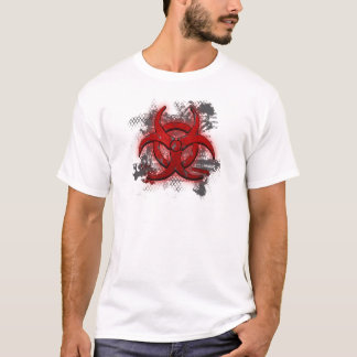 Superior Red Biohazard T-shirt