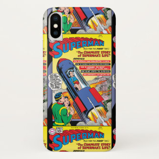 Superman #146 iPhone x case