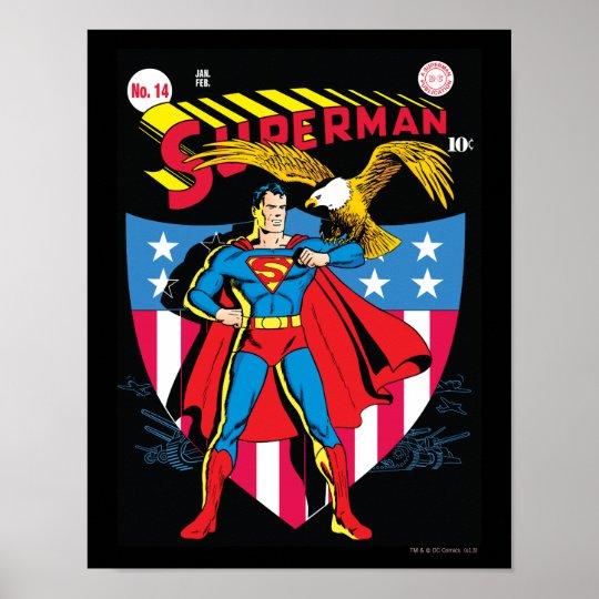 Superman #14 poster
