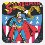 Superman #14 square sticker