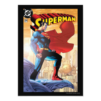 "Superman #204 June 04 5"" X 7"" Invitation Card"