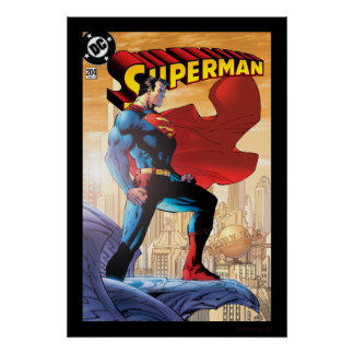 Superman #204 June 04 Poster