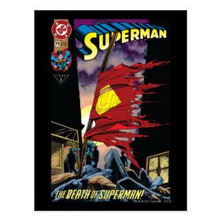 Superman #75 1993 postcard