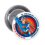 Superman A Never-ending Mission 2 Inch Round Button