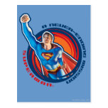 Superman A Never-ending Mission Postcard