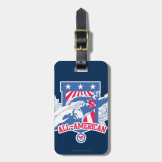 Superman All-American Tags For Luggage