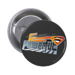 Superman All Powerful 2 Inch Round Button