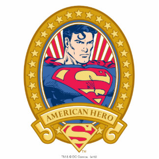 Superman American Hero Standing Photo Sculpture