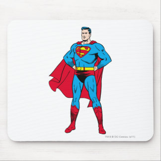 Superman Arms Folded Mouse Pad
