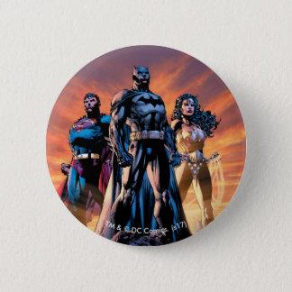 Superman, Batman, & Wonder Woman Trinity 2 Inch Round Button