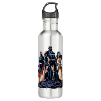 Superman, Batman, & Wonder Woman Trinity 710 Ml Water Bottle