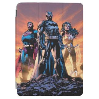 Superman, Batman, & Wonder Woman Trinity iPad Air Cover
