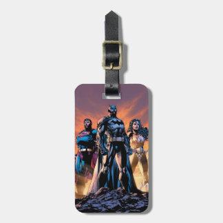 Superman, Batman, & Wonder Woman Trinity Luggage Tag