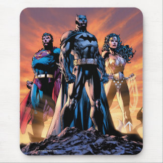 Superman, Batman, & Wonder Woman Trinity Mouse Pad