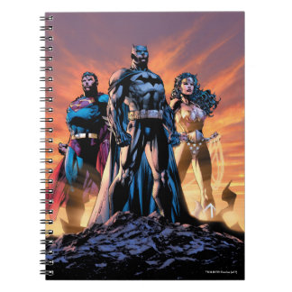 Superman, Batman, & Wonder Woman Trinity Notebooks