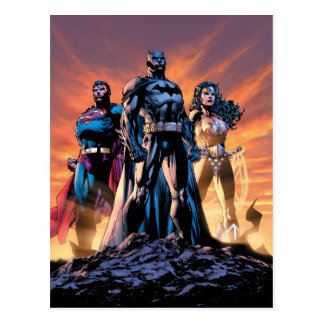 Superman, Batman, & Wonder Woman Trinity Postcard