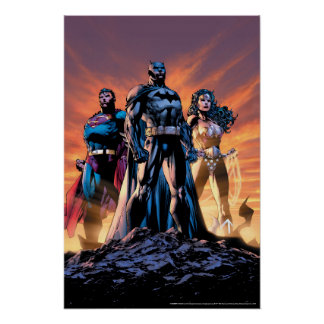 Superman, Batman, & Wonder Woman Trinity Poster