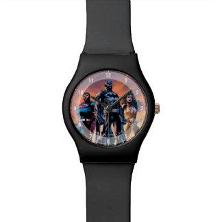 Superman, Batman, & Wonder Woman Trinity Watch