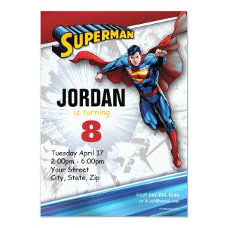 "Superman Birthday 5"" X 7"" Invitation Card"