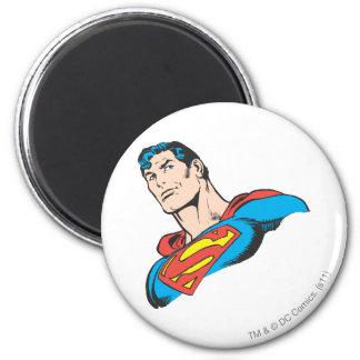 Superman Bust 3 2 Inch Round Magnet