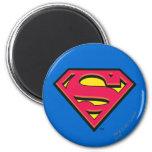 Superman Classic Logo 2 Inch Round Magnet