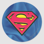 Superman Classic Logo Round Sticker