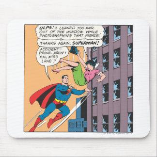 Superman Comic Panel - Accident-Prone Lois Mouse Pad
