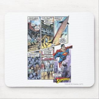 Superman Comic Panel - Clark's Origins 2 Mouse Pad