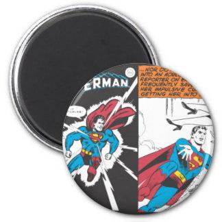 Superman Comic Panels Magnet