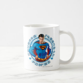 Superman Courage Strength Power Coffee Mug