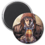 Superman Earth Cover - Colour 2 Inch Round Magnet