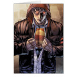 Superman Earth Cover - Colour Greeting Card